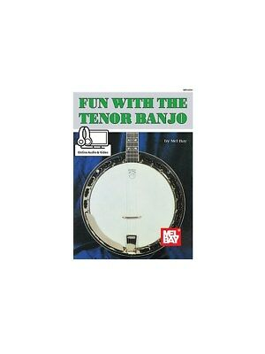 Mel Bay Fun With The Tenor Banjo Online Audio Video Play MUSIC BOOK/AUDIO • 12.99£