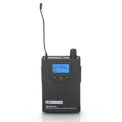 LD Systems MEI 100 G2 BPR - Receiver For LDMEI100G2 In-Ear Monitoring System • 132£
