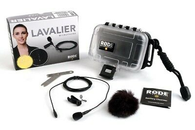 Rode Lavalier Mic Omnidirectional Lavalier Microphone • 157.25£