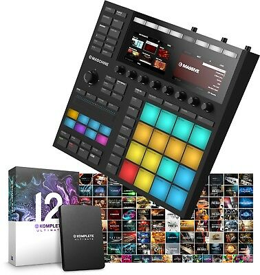 Native Instruments Maschine Mk3 & Komplete 12 Ultimate FREE UPG TO KOMPLETE 13U • 869£