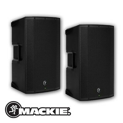 Mackie Thump 12A V4 2600W Professional 12  DJ Disco Active PA Speakers (Pair) • 479£