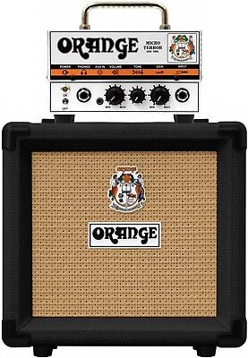 Orange Micro Terror PPC108 Black Half Stack Amplifier Package • 199£
