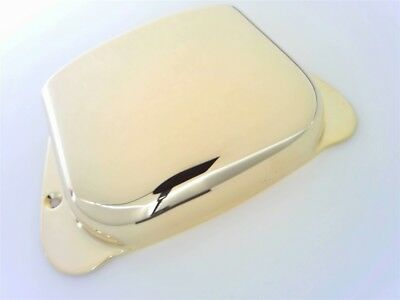 True Custom Shop® Vintage Gold Ashtray Bridge Cover For Fender Precision P Bass • 16.36£