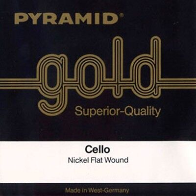 Pyramid Gold 4/4 Cello Strings Set IN 5 Sizes, Cello Strings Set • 34.40£