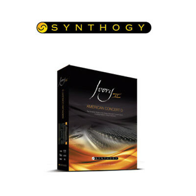 Synthogy Ivory II - American Concert D Virtual Piano Plug In (Boxed) • 114.09£