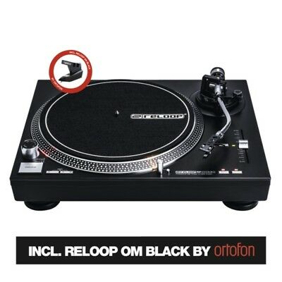 Reloop RP-4000 MK2 Professional High-Torque Direct Drive DJ Turntable Deck • 259£