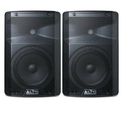 Alto TX208 Active Powered 8  150W RMS DJ Disco Stage Band PA Speaker (Pair) • 189£
