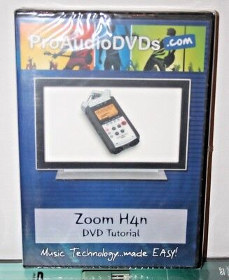 Zoom H4n Video Help Tutorial Training Lesson Reviews Learn Pro Audio Dvds • 27£