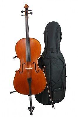 Bucur Ioan 4/4   Advanced   Cello With Bow, Shell And Rosin • 1,680.45£