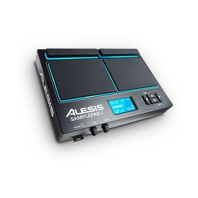 Alesis Sample Pad 4 USB / SD Electronic 4-Pad Drum Percussion Kit Machine • 154.95£