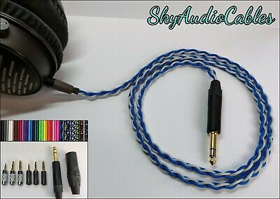 Custom Headphone Cable - AKG Q701 K702 K712 K7xx K240 K171 DT1770 DT1990 • 61.50£