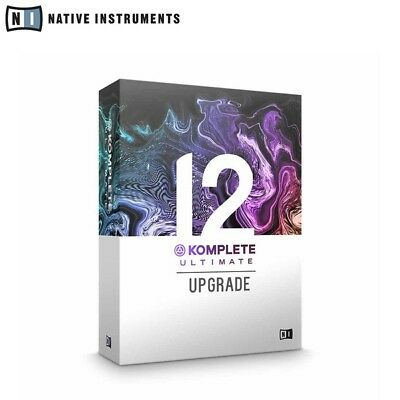 Native Instruments Komplete 12 Ultimate UPG K8-12 Upgrade From Komplete 8-12 • 469£