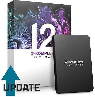Native Instruments Komplete 12 Ultimate (UPDATE From Komplete Ultimate 8-11) • 169£