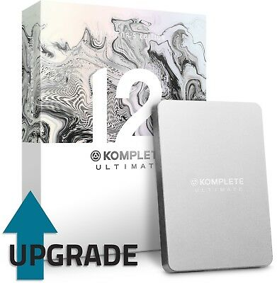 Native Instruments Komplete 12 Ultimate CE Upgrade From KU8-KU12 • 249£