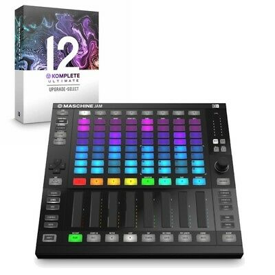 Native Instruments Maschine Jam Production Controller & Komplete 12 Ultimate • 1,059£
