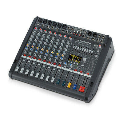 Dynacord PowerMate 600-3 8 Channel Powered Mixer Mixing Desk 2 X 1000W Effects • 1,399£