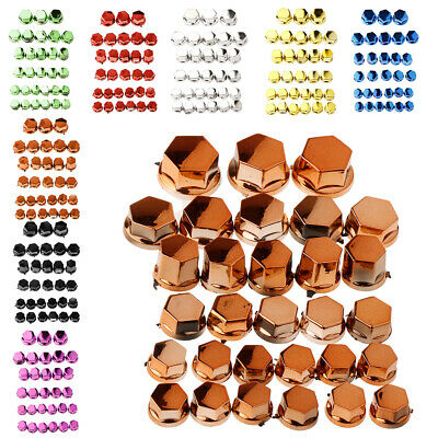 30Pcs Motorcycle Screw Nut Bolt Cap Cover Decoration For Yamaha • 3.46£