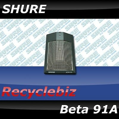 BRAND NEW! Shure Beta 91A Drum Microphone Beta91A Mic Free 2 Day US 48 Shipping! • 172.94£