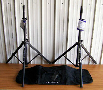 2 Ultimate Support TS70B Speaker Stands BAG90D Package! Free US 48 State Ship! • 123.41£
