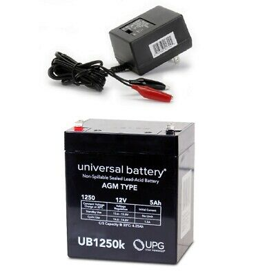 NEW UPG UB1250 12V 5AH Battery LD Systems Roadman 102(HS) PA System & Charger • 14.71£