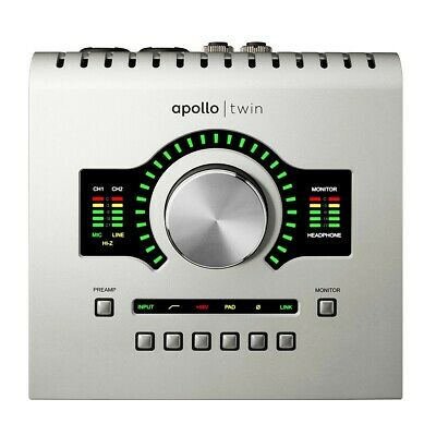 Universal Audio Apollo Twin USB DUO Processing INTERFACE - NEW - FREE SHIPPING • 573.49£