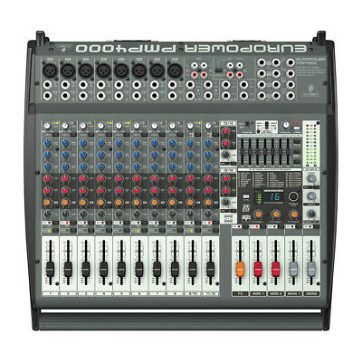 Behringer PMP4000 Europower Flatbed Mixer Amplifier • 379£