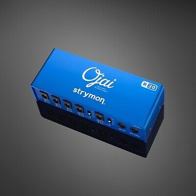 STRYMON Ojai R30 High Current Pedal Power Supply - Brand New. Authorized Dealer! • 204.33£