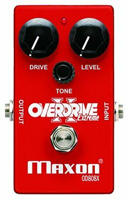Maxon Guitar Effects Overdrive Extreme Distortion Overdrive OD808X • 148.45£