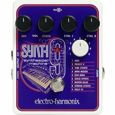 Electro-harmonix Effector Synthesizer Machine SYNTH9 Synthesizer Machine • 264.40£