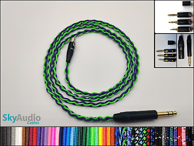 Pure Silver Headphone Cable - AKG Q701 K702 K712 K7xx K240 K171 DT1770 DT1990 • 98.50£