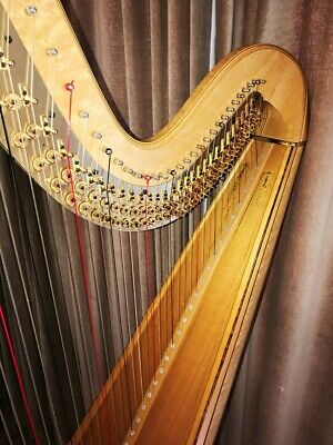 Lyon & HealyStyle 23 Pedal Harp47 Strings +Indoor Dust Cover +Tuning Key • 24,999£