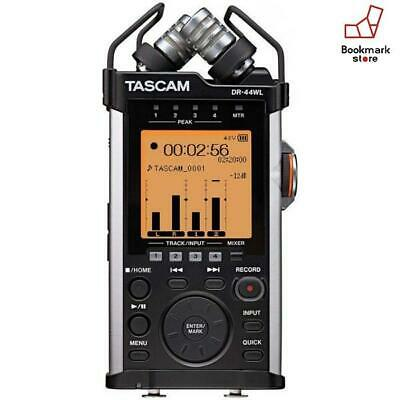 New Tascam Linear Pcm Recorder Dr-44Wl Ver2-J Wi-Fi Remote F/S From Japan • 207.27£