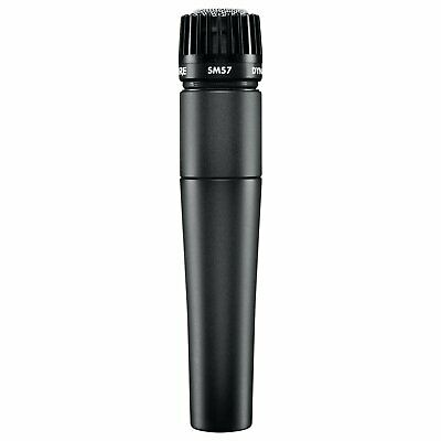 2 Shure SM57-LC Cardioid Dynamic Microphone COMBO PACK!!! • 148.38£