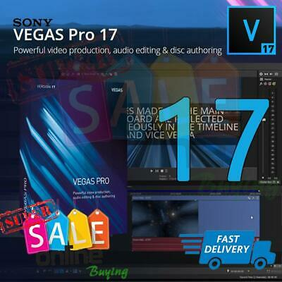 MAGIX Vegas Pro 17 - Lifetime FULL ACTIVATION ✔️ Download Sony Video Editing • 29.99£