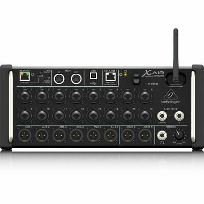 Behringer X Air XR18 18-Input Digital Mixer For IPad/Android Tablets WiFi USB • 402.94£