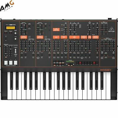 Behringer ODYSSEY Full-Sized Analog Synthesizer With Sequencer And FX • 480.46£