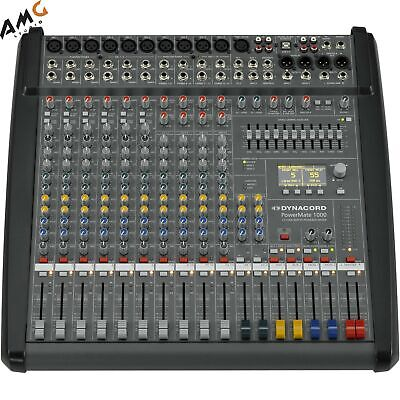 Dynacord PowerMate 3 10-Channel Powered Mixer DC-PM1000-3-UNIV • 2,152.98£