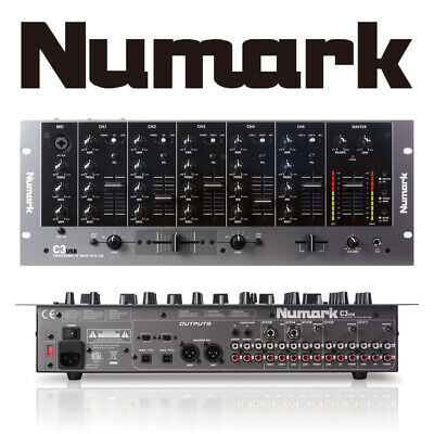 Numark C3 5-Channel Rack Mount Professional DJ Mixer Mixing Desk With USB Input • 239£