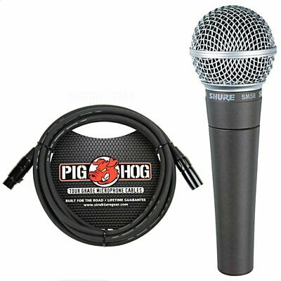 Shure SM58LC SM-58 Dynamic Vocal Microphone With Free Cable • 95.09£