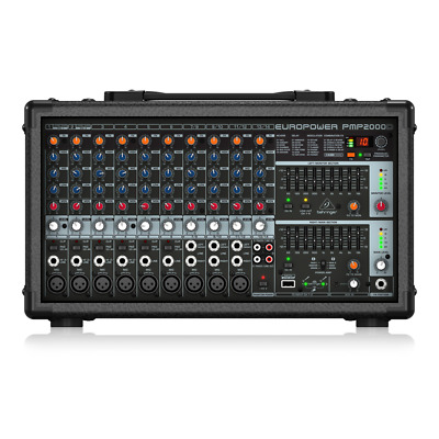 Behringer Europower PMP2000D Powered Mixer 2000W FX 14 Channel Band PA System • 299£