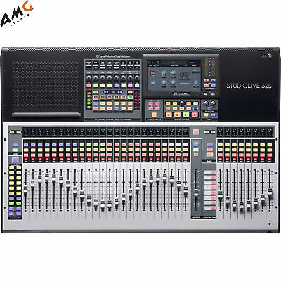 PreSonus StudioLive 32S Series III S 40-Channel Digital Mixer/Recorder/Interface • 2,426.56£