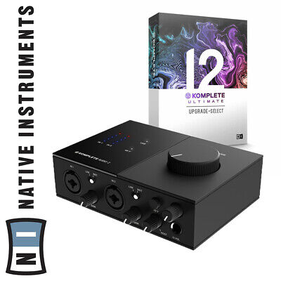 Native Instruments Komplete Audio 2 Studio Interface With 12 Ultimate Software • 939£