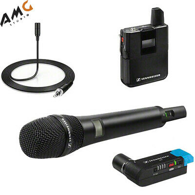 Sennheiser AVX-Combo SET Digital Camera-Mount Wireless Combo Microphone System • 718.19£