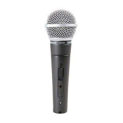 Shure SM58S Cardioid | Dynamic Legendary Vocal Microphone • 75.25£