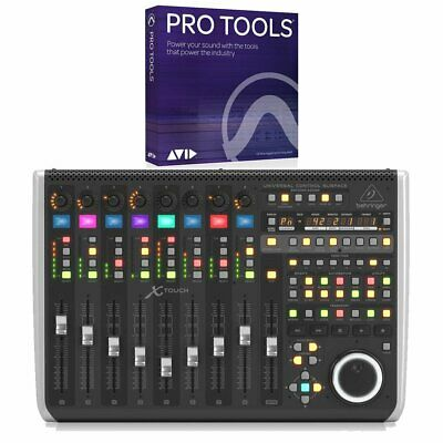 Behringer X-TOUCH Control Surface With Avid Pro Tools 2019 Annual Subscription • 653.49£