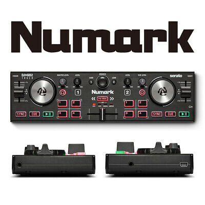 Numark DJ2GO2 Touch Portable USB Serato 2-Channel DJ Controller For Mac & PC • 69.99£