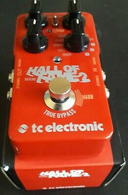 TC Electronic Hall Of Fame 2 Reverb Pedal • 62£