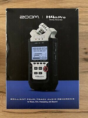 Zoom H4N PRO Handy Multitrack RecorderUsed Once In Box • 150£