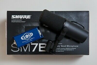 Shure SM7B With Cloudlifter CL-1 • 344.56£