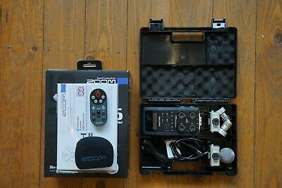 Zoom H6 Recorder With Remote - Used • 250£